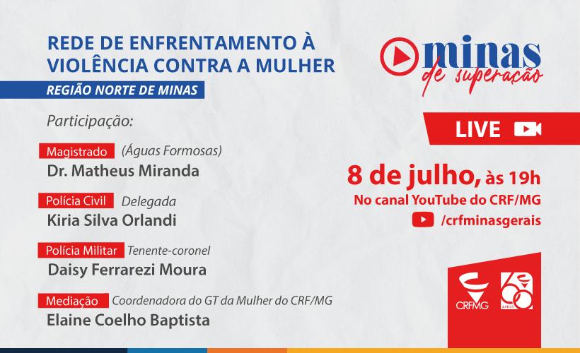 Rede de enfrentamento à violência contra a mulher é tema de debate no Norte de Minas
